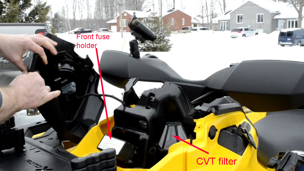 UTH 2m cvt air filter question can am atv forum can am maverick fuse box location at bayanpartner.co