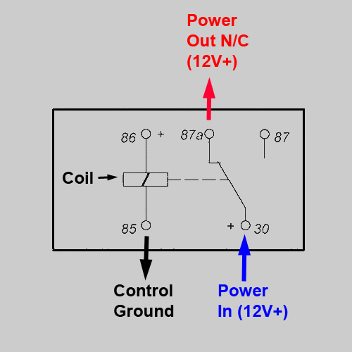 To Connect A Dpdt Relay In A Circuit Double Pole Double Throw Relay