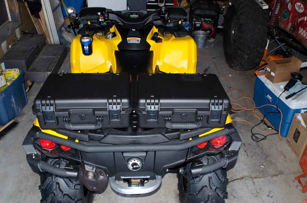 Billavista Com Mounting Pelican Cases On A Can Am G2