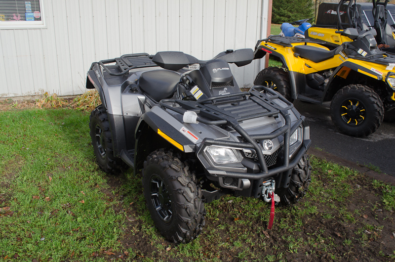 Grizzly 700 vs can am outlander 650 my impression for 2018 yamaha grizzly 700 hp