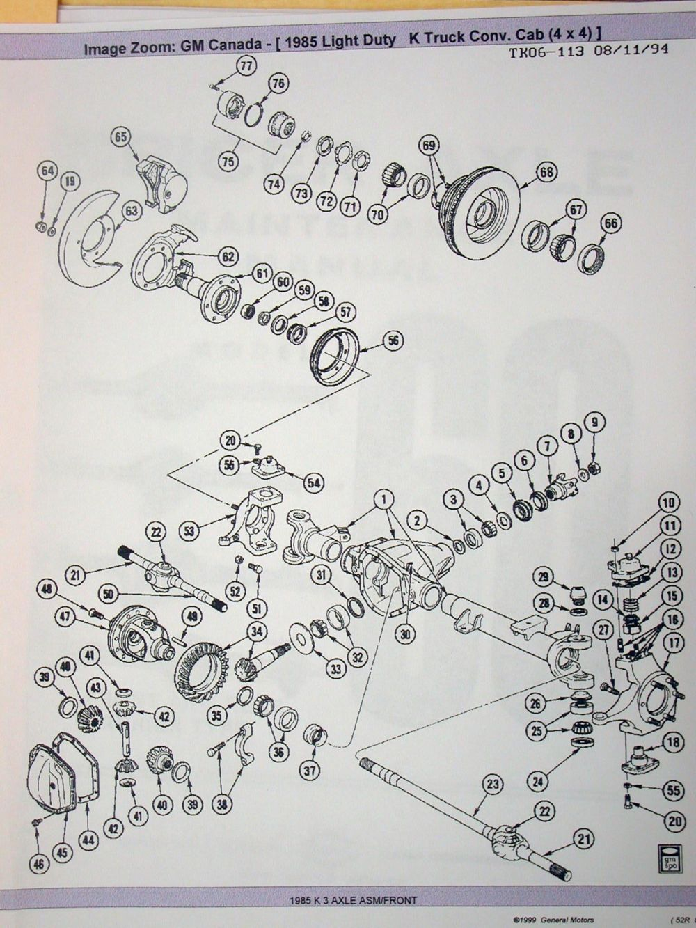 Ford Kingpin Dana 60 Front Axle Diagram Ford Free Engine