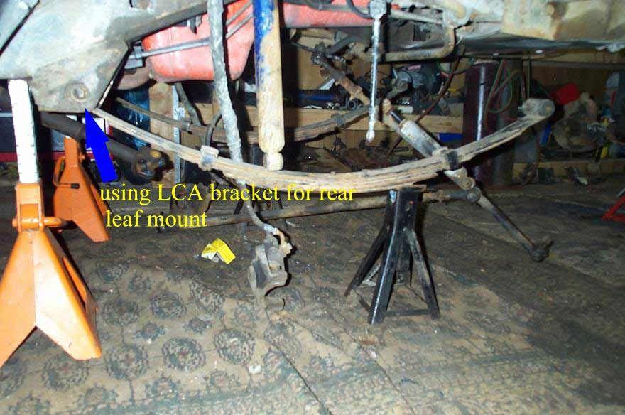 BillaVista com-Jeep XJ Front Leaf Spring Conversion Tech Article by