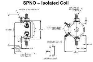 SPNO solenoid_small warn winch solenoid wiring diagram efcaviation com warn winch wiring diagram solenoid at bayanpartner.co